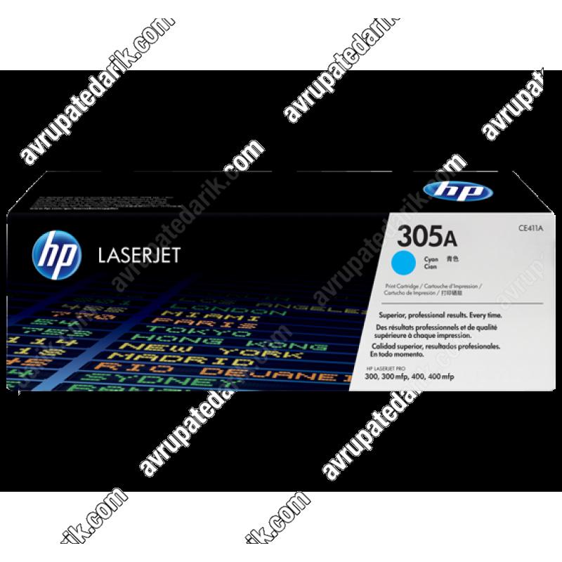 HP CE411A (305A) MAVİ RENKLİ MUADİL TONER FİYATI