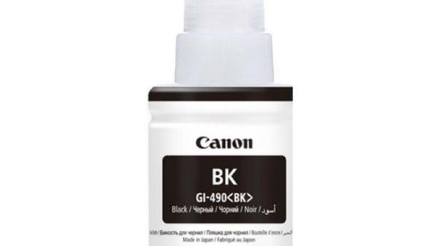 CANON GI-490PGBK SİYAH MÜREKKEP KARTUŞU ( GI-490PGBK ) G1400/G2400/G3400/G4400