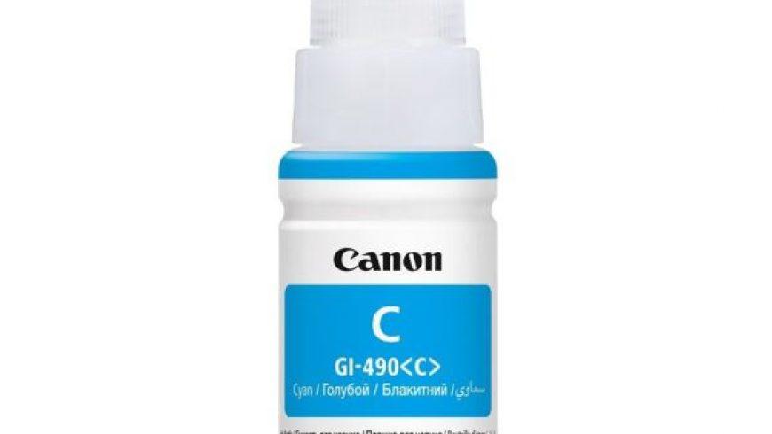 CANON GI-490C MAVİ MÜREKKEP KARTUŞU ( GI-490C ) G1400/G2400/G3400/G4400